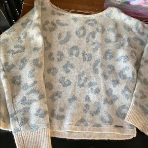 Abercrombie & Fitch boatneck sweater